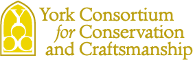 Logo of the York Consortium for Conservation & Craftsmanship